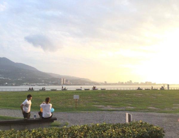 初めてANAマイル旅行、台湾の淡水