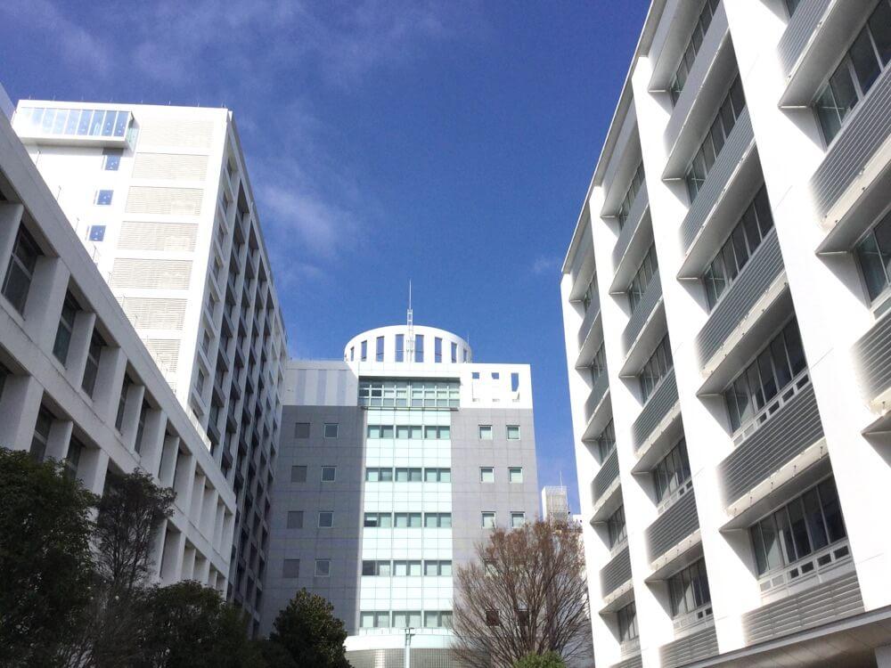 HSK受験会場の亜細亜大学2018年3月